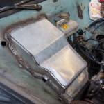 Pedal box cover