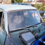 New windscreen rubber
