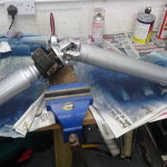 Painted 200SX propshaft